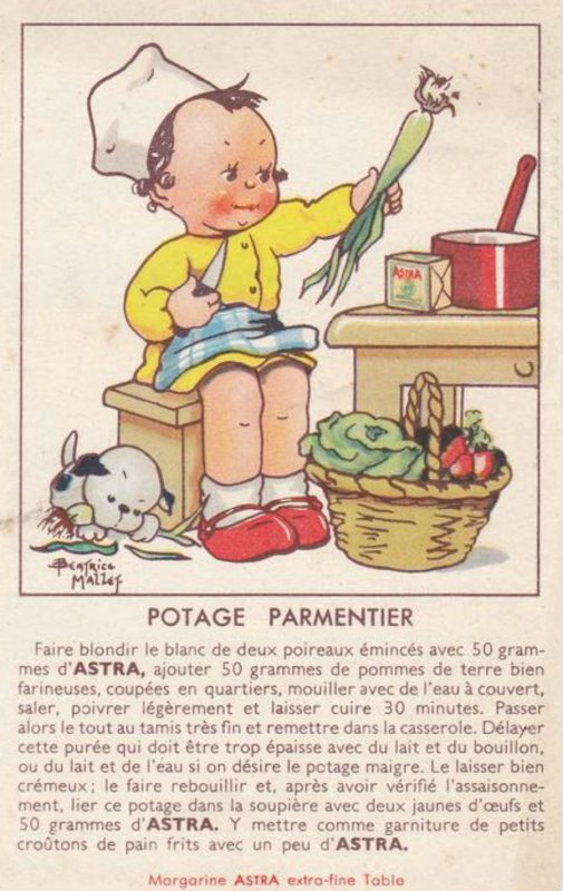PARMENTIER : Le Potage