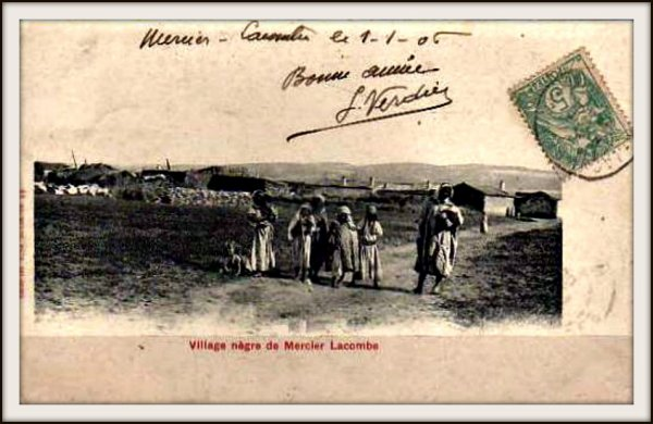 MERCIER LACOMBE : Carte postale animée