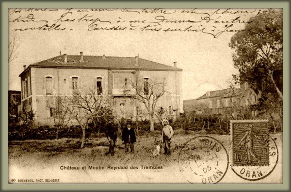 LES TREMBLES : Carte postale animée envoyée par Claude TORRÈS