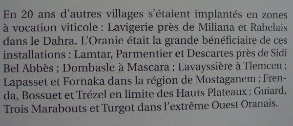 Livre : Hommes, vignes et vins de l'Algérie Française (1830-1962)