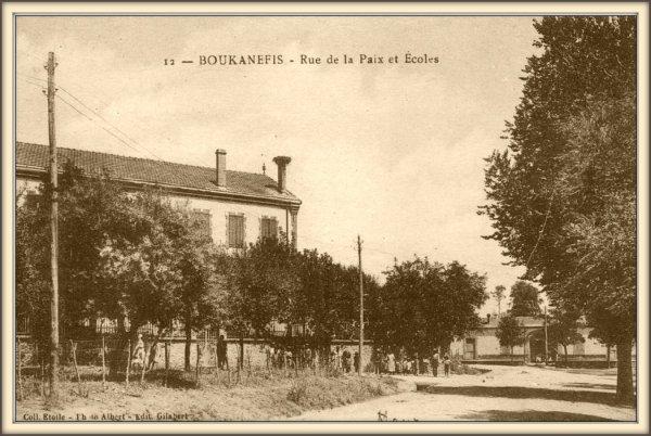 BOUKANEFIS : Vieille carte postale