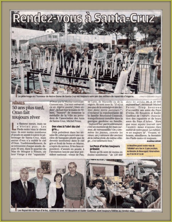 9 Mai 2013 : Ascension à Nîmes