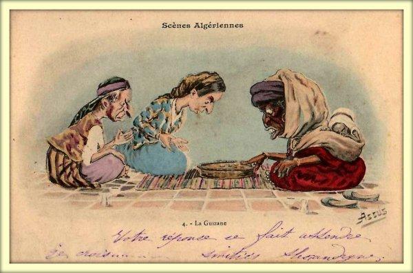 DÉTRIE : Vieille Carte postale animée