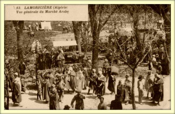 LAMORICIÈRE : Vieille carte postale