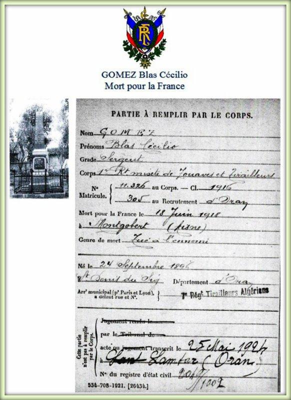 LAMTAR : Le monument aux morts