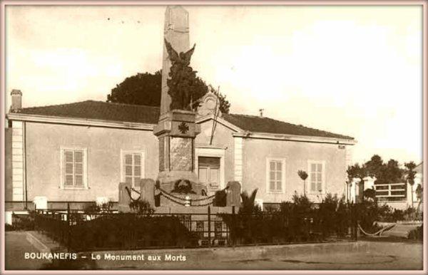BOUKANÉFIS : Le monument aux morts
