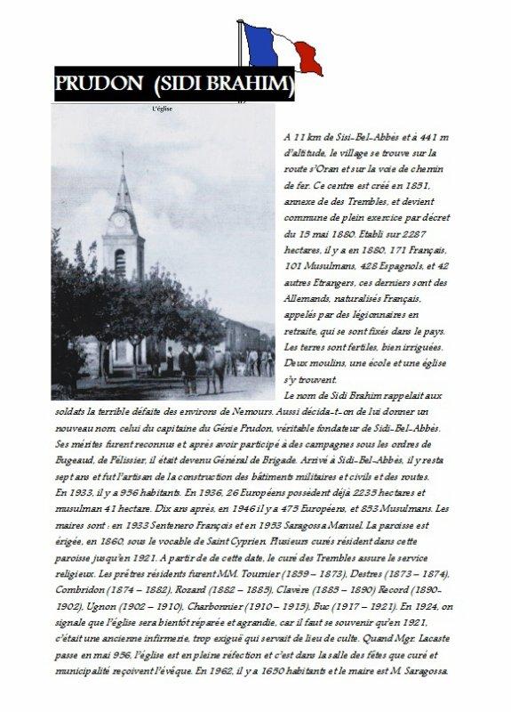 PRUDON : Histoire du village