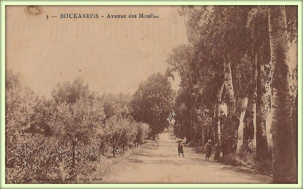 BOUKANEFIS : Vieille carte postale