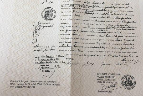LAMTAR : Recherche Augustin GIMENES