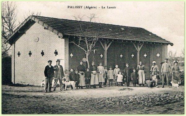 PALISSY : Vieille carte postale animée