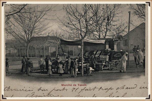 TASSIN : Vieille carte postale