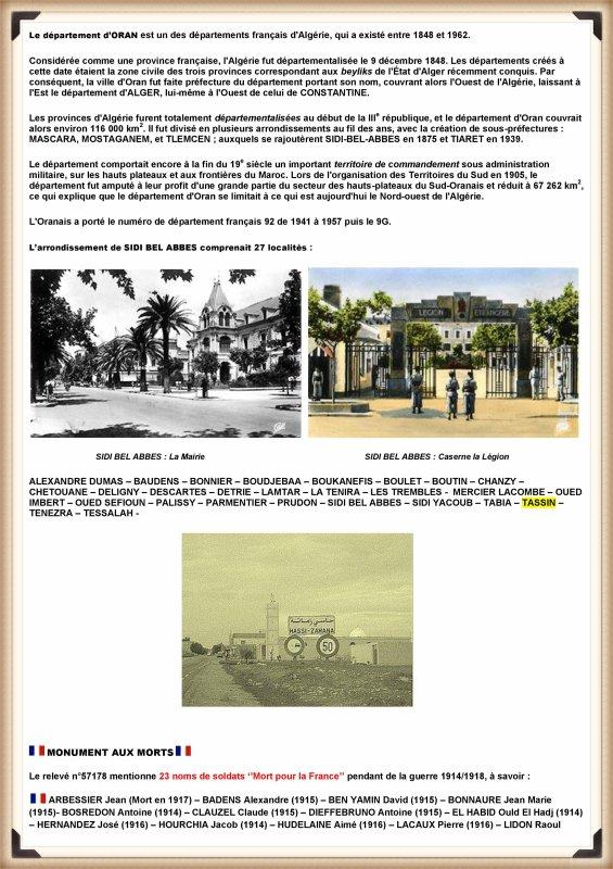 JC ROSSO : HISTOIRE DE TASSIN