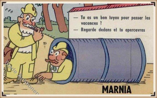 PARMENTIER : Vieille carte postale