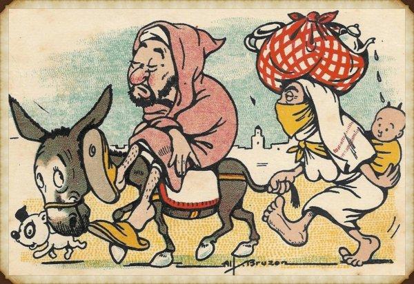 SIDI L'HASSEN : Vieille carte postale
