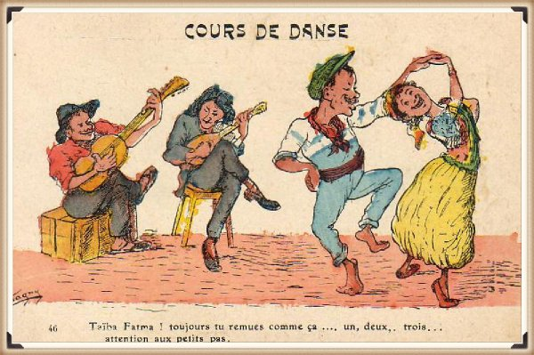 Descartes : Vieille carte postale