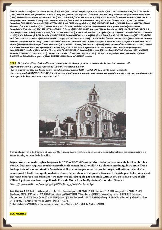 SAINT DENIS DU SIG  par JC ROSSO