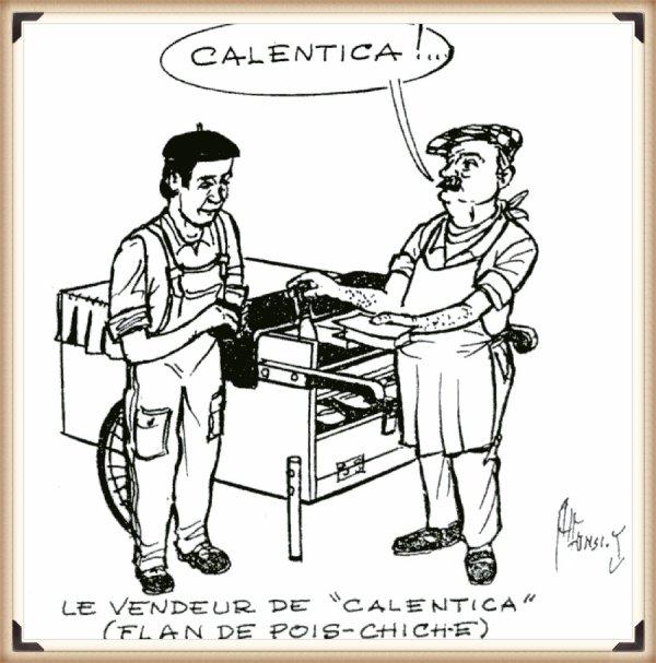 Recette LA CALENTICA