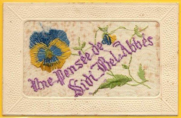 SIDI BEL ABBES : Vieille carte postale