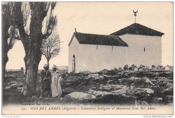 SIDI BEL ABBES : Histoire du marabout