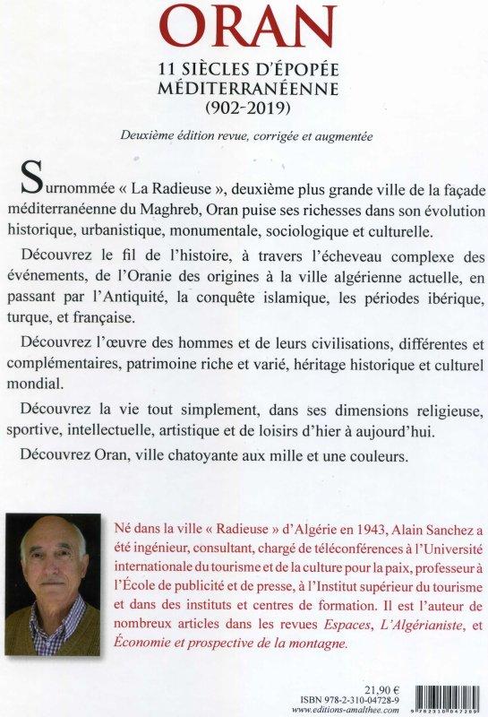 Livre d'Alain SANCHEZ