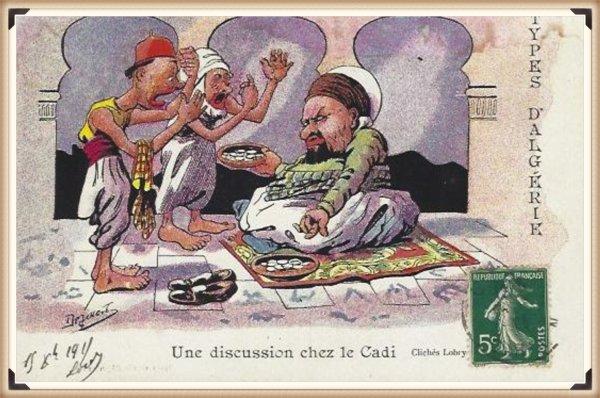 DÉTRIE : Vieille carte postale