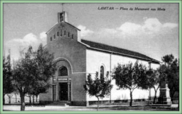 Histoire de la Paroisse de LAMTAR