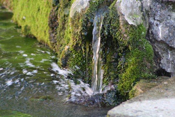 L'eau...