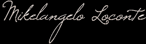 ♥ Mikelangelo et Moi ♥