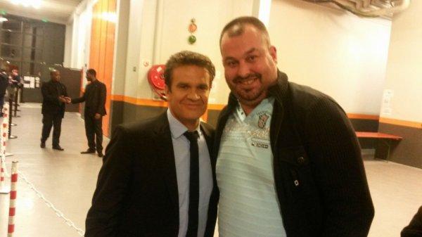 Hervé Mathoux et moi