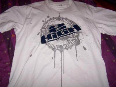 t shirt blanc 2high