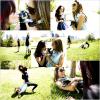 . 28.08.12:Torrey,Maryelle (sa soeur) et Beau (son chien) étaient dans un parc à Los Angeles. Elles sont sublimes, j'adore les photos. Torrey est vraiment sublime **.