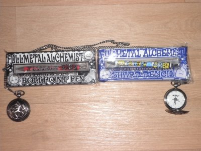 Voici ma collection de Fullmetal Alchemist et  celle de ma soeur.