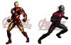 Nouveau Personnage : Iron Man & L'Homme-Fourmi