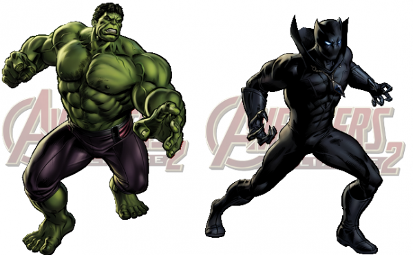 Nouveau Personnage : HULK (AGE OF ULTRON) & Black Panther