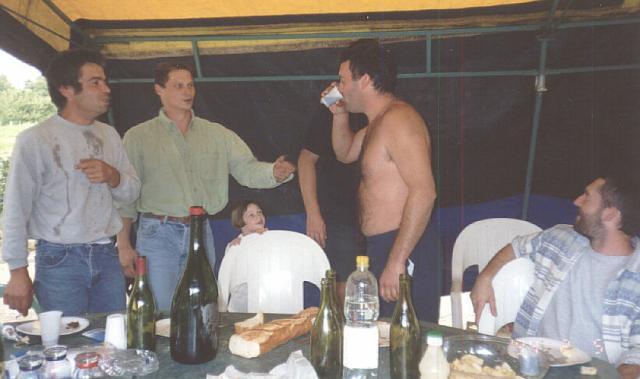 Photos repas 2001