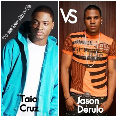 Jason Derulo VS Taio Cruz