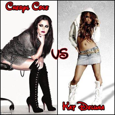 Cheryl Cole VS Kat Deluna