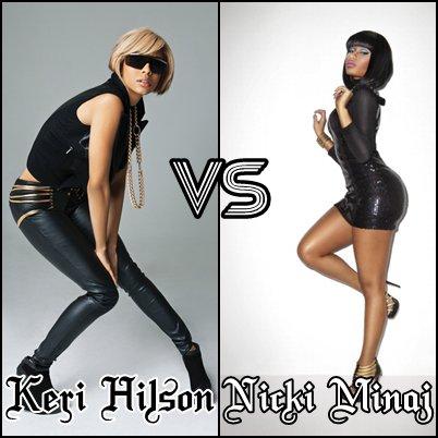 Keri Hilson VS Nicki Minaj