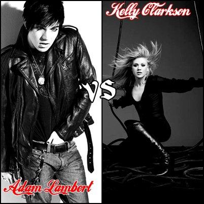 Adam Lambert VS Kelly Clarkson