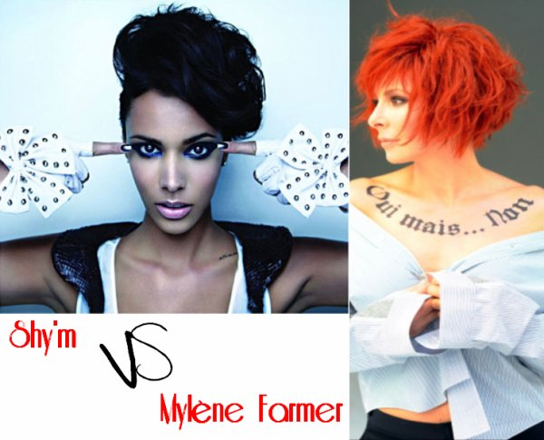 Mylène Farmer VS Shy'm