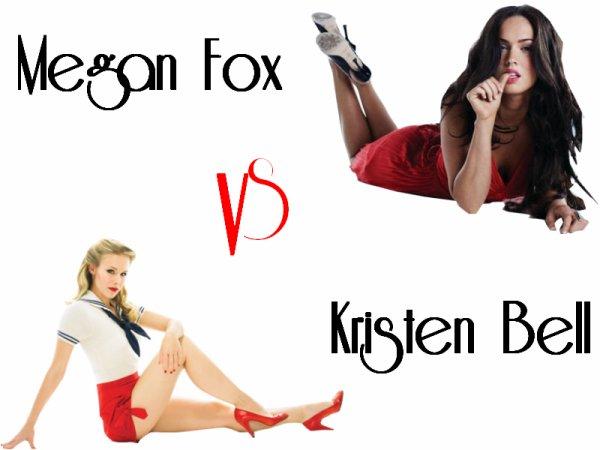 Megan Fox VS Kristen Bell