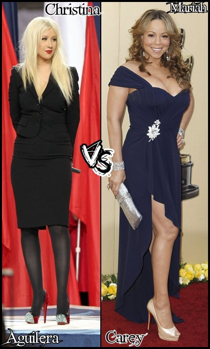 Christina Aguilera VS Mariah Carey
