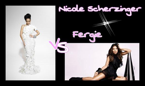 Nicole Scherzinger VS Fergie