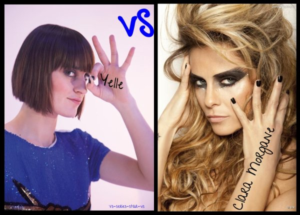 Clara Morgane VS Yelle