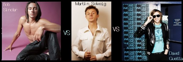 Bob Sinclar VS Martin Solveig VS David Guetta