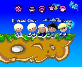 Fête -Diego(moi) Dj_Assad x_miis_x3_ sashaah-TR Mwa_lucas_