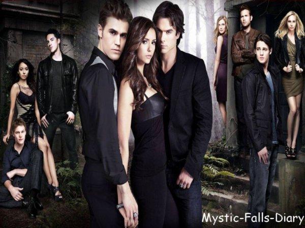 Le journal de Mystic Falls // Fiction basée sur la série