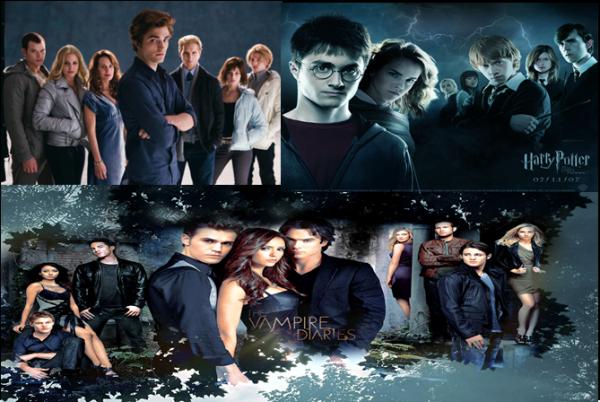 Alliance // Fiction basée sur la série, Harry Potter et Twilight