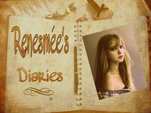 Renesmée's diaries // Fiction basée sur la série