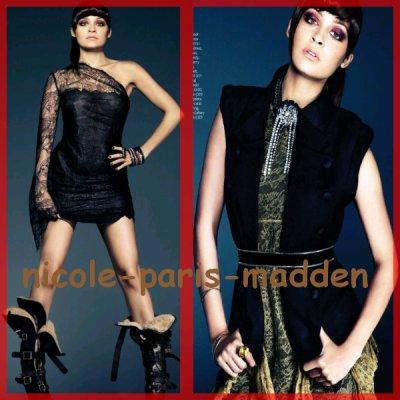 """Nicole Richie en couverture du magazine UK """"INSIDE"""" : regardez ...."""